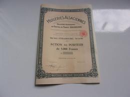 HUILERIES ALSACIENNES (1952) STRASBOURG - Unclassified