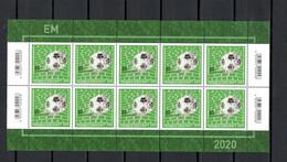 Germany 2021 Football Soccer European Championship Sheetlet MNH - Europei Di Calcio (UEFA)