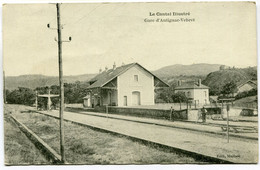 CPA - Carte Postale - France - Antignac - Gare D'Antignac - Vebret (DO17281) - Otros Municipios