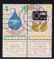 NL 2015, Geleiding, Electriciteit, Met Tab, Gestempeld - Used Stamps