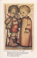 Ancienne Image Pieuse - Holy Card - Santini  - Prentje Hummel Illustrateur 3391 - Devotion Images