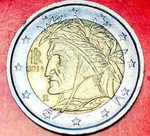ITALIA - 2014 - Moneta - Dante Alighieri, Dipinto Da Raffaello - Euro - 2.00 - Italie