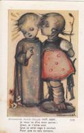 Ancienne Image Pieuse - Holy Card - Santini  - Prentje Hummel Illustrateur 3395 - Devotion Images