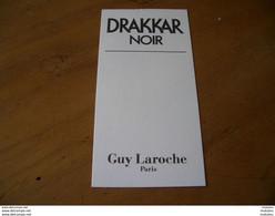Carte Laroche Drakkar Noir - Modern (from 1961)