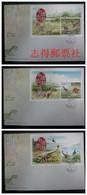 China Hong Kong 2014 Chinese Dinosaur Stamps Booklet 恐龍  FDC - FDC