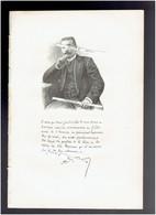 ADRIEN LUCET 1858 COURTENAY 1916 PARIS MEDECIN VETERINAIRE PORTRAIT AUTOGRAPHE BIOGRAPHIE ALBUM MARIANI - Documenti Storici