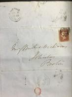 GB VICTORIA 1848 Entire Liverpool To Preston - Covers & Documents