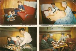 CP Air France 1959 - Super Constellation,  The Golden Parisian, Sky-room Service - Ligne Paris - New York - 1946-....: Era Moderna