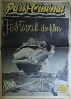 Paris-Cinéma. Organe  Libre Du Cinéma Français. Festival Du Film (Cannes). N° 54. 15 Octobre 1946. Numéro Spécial. - Cinéma/Télévision