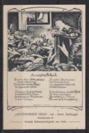 """Dt.Reich Werbekarte """"Lichtenhainer Krug Das Nächtliche Kollegium ... """" Grösste Sehenswürdigkeit Von Halle ** Ungebraucht - Halle (Saale)"""