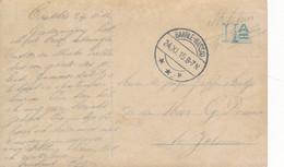 PK Fantasie – Militair Portvrijdom – Baarle-Nassau 24.XI.15 - Brieven En Documenten