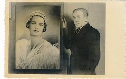 PK Hekelgem – Zandtapijt P. Van Ransbeek – Zandportret Van H.M. Astrid – Phototypie A. Dohmen - Affligem