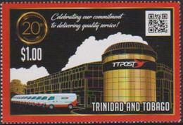 TRINIDAD AND TOBAGO, 2019, MNH, POST, TTPOST, VEHICLES, VANS, 1v - Post