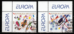 Kroatie  Europa Cept 2004  Gestempeld - 2004