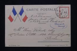 FRANCE - Carte FM Du SP 306 Pour Paris En 1939 - L 100320 - WW II