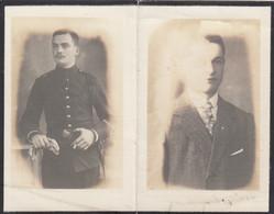 François Gabriel Brigadier Mort à La Panne 1918 Militaire Guerre 14 -18    Doodsprentje Mortuaire Maurille Harzé - Religion & Esotericism