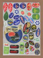 AC - FRUIT LABELS Fruit Label - STICKERS LOT #77 - Frutas Y Legumbres