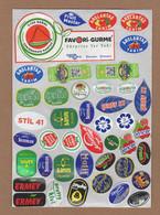 AC - FRUIT LABELS Fruit Label - STICKERS LOT #78 - Frutas Y Legumbres