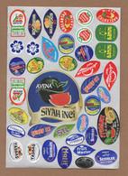 AC - FRUIT LABELS Fruit Label - STICKERS LOT #79 - Frutas Y Legumbres