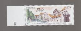 FRANCE / 2020 / Y&T N° 5389 ** : Salon Philatélique De Printemps à Dôle (Jura) X 1 BdF G - Ongebruikt