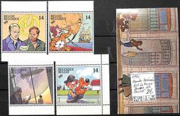 [847296]TB//**/Mnh-Belgique 1991 - Dont La Marque Jaune Du Carnet, Bandes Dessinées, Arts - Comics