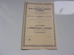 Métallurgiqiue Industrielle Et Financière (PERPIGNAN) - Sin Clasificación