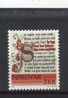 ILES FEROE - Y&T N° 61** - MNH - Ecrit Historique - Isole Faroer