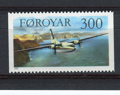 ILES FEROE - Y&T N° 120** - MNH - Avion - Fokker - Isole Faroer