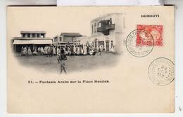 DJIDOUTI - FANTASIA ARABE SUR LA PLACE MENILEK - PRECURSEUR - 1903 - Gibuti