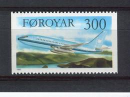 ILES FEROE - Y&T N° 121** - MNH - Avion - Boeing 737 - Isole Faroer