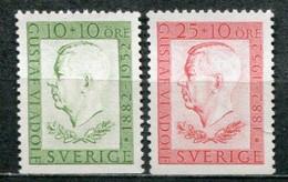 Schweden Sweden Sverige Mi# 376-7Du Postfrisch/MNH - Kings 70th Birthday - Nuovi