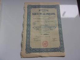 EAUX DE LA PRESTE  (PERPIGNAN) - Sin Clasificación