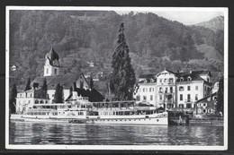Carte P De 1947 ( Beckenried / Hôtel Pension ) - NW Nidwalden