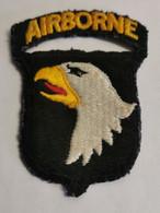 L'insigne D'épaule De La 101e Airborne Division, The Screaming Eagles, Qui Sauta En Normandie Dans La Nuit 5 Et 6 Juille - 1939-45
