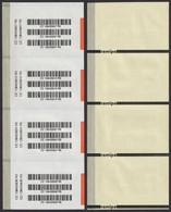 Registered Label CC Type / Packet Parcel - Self Adhesive Postal LABEL VIGNETTE 2000's Serbia Yugoslavia - Not Used Sheet - Post