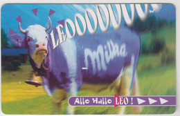 BELGIUM - Leo (Cow) - Kraft Jacobs Suchard, InTouch Prepaid Card, Tirage 200.000, Used - [2] Prepaid & Refill Cards