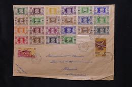 WALLIS ET FUTUNA - Grande Enveloppe De Mata Utu Pour Nouméa En 1954, Affranchissement Varié, à Voir - L 100336 - Covers & Documents