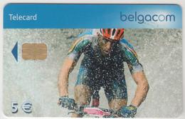 BELGIUM - VTT (Filip Meirhaeghe), 5 €, Tirage 90.000, Used - With Chip
