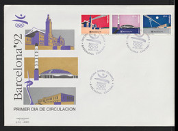 Spain 1992 FDC Olympic Games In Barcelona (LAR10-57A) - Verano 1992: Barcelona