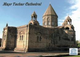 1 AK Armenien * Mayr Tachar Kathedrale In Etschmiadsin - Erbaut Anfang Des 4. Jahrhunderts Und Seit 2000 Weltkulturerbe - Armenia