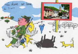 BIERT....  La Chasse  Est Bonne A.... - Autres Communes