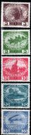 Autriche, Y & T N°138 à 142 ( 5 Timbres) Neufs **, MNH, Sans Trace De Charnière - Unused Stamps