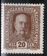 Autriche, Y & T N°149 Neuf **, MNH, Sans Trace De Charnière - Unused Stamps
