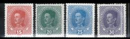 Autriche, Y & T N°162 à 165 ( 4 Timbres) Neufs **, MNH, Sans Trace De Charnière - Unused Stamps