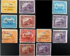 Nicaragua-Catedral Y&T 378-379-381-381B-382-385-387-389-392-394-395-397 - Nicaragua