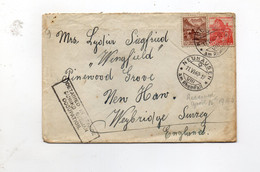 "16MRC9 - SVIZZERA , Lettera Da Neuhasen 11/6/1940 : ""detained In France During German Occupation"" - Documents"