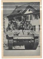 Première Armée Française Le Char Alsace En Allemagne - Weltkrieg 1939-45