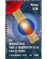 Ref. 343753 * MNH * - MEXICO. 1996. INTERNATIONAL DAY FOR THE PRESERVATION OF THE OZONE LAYER . DIA INTERNACIONAL PARA - Environment & Climate Protection