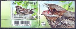 2021. Belarus, Bird Of The Year, Stamp Wih Label, Mint/** - Belarus