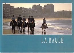44 - La Baule - Pornichet - Equitation Matinale Sur La Grande Plage - La Baule-Escoublac